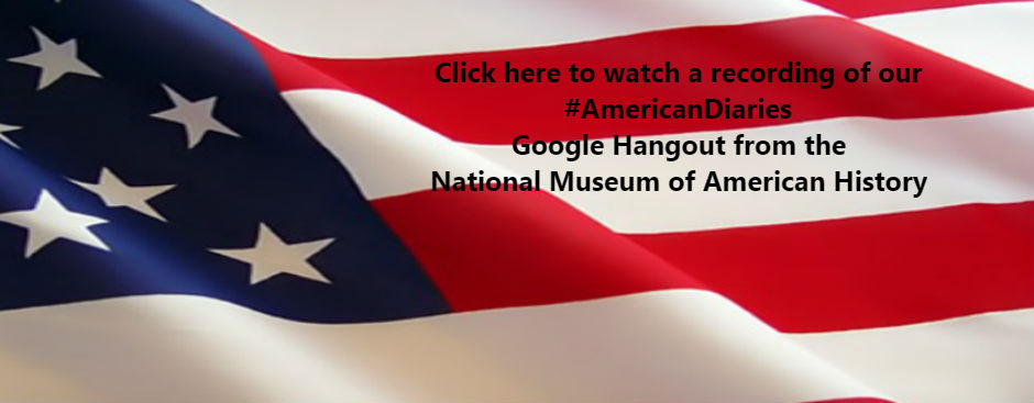Click here to watch the Google Hangout on #AmericanDiaries