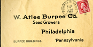 Burpee Seed 1924 Contest Letters