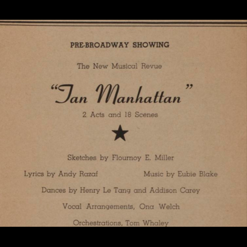 Exploring black history month 2017 education theater howard theatre program tan manhattan henry p whitehead collection stopboris Image collections